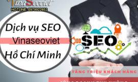Dịch Vụ Seo Hồ Chí Minh