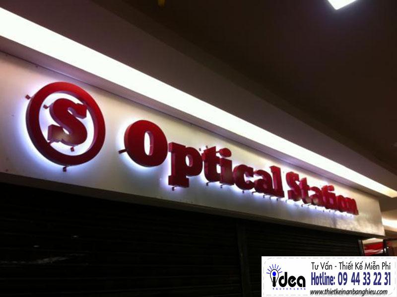 Bảng giá bảng hiệu mica chữ nổi- Bảng hiệu quảng cáo Nguyễn Long Idea