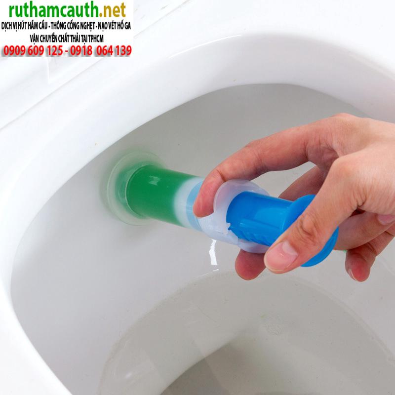 Hướng dẫn chống hôi toilet tại nhà