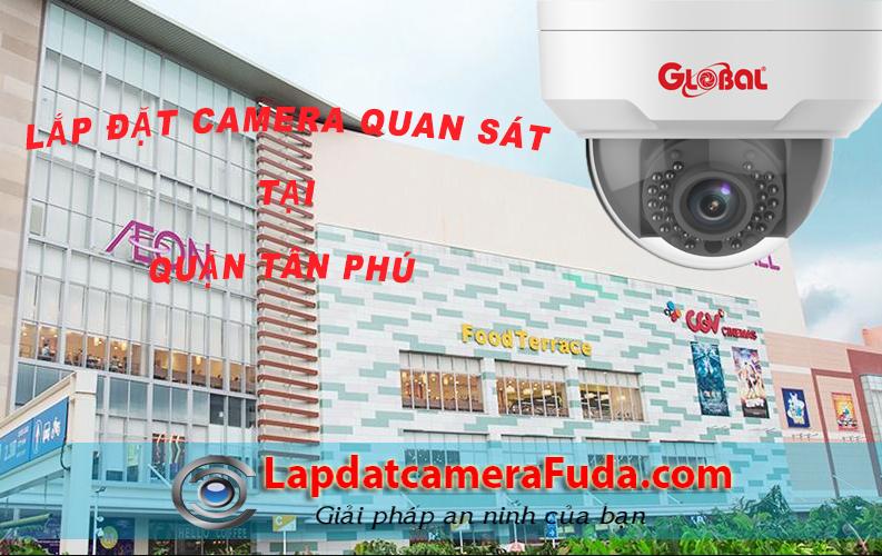 Dịch vụ lắp đặt camera quận Tân Phú trọn gói giá rẻ