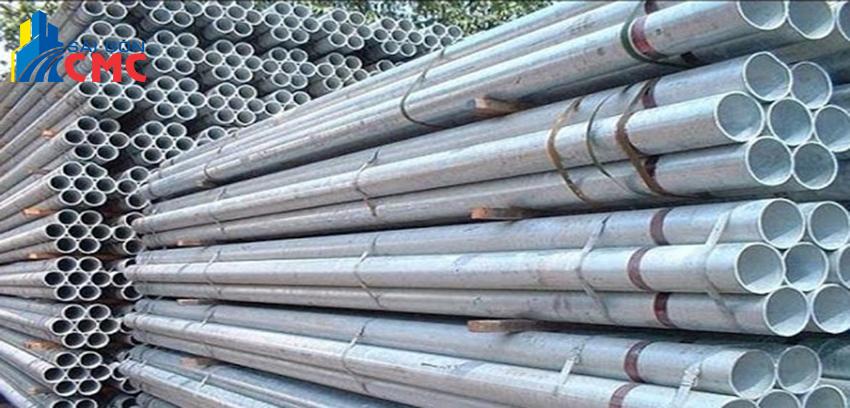 Giá thép ống mạ kẽm mới nhất